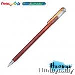 Pentel Hybrid Dual Metallic Gel Pen (Orange and Metallic Yellow)