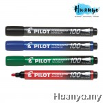Pilot Permanent Marker 100 Fine (Black, Blue, Red, Green)
