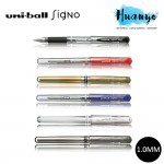 Uni-ball Signo Broad Gel Ink Pen UM 153 (1.0MM, Per Pcs) - [Black / Red / Blue / Silver / Gold / White]