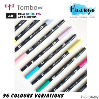 Tombow Dual Brush Pen Blue Shades (15 Colours)
