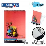 Campap Premium Sketch Book A4 135gsm - 15 sheets