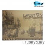 Masterprint Layout Pad A3 70gsm - 30 sheets