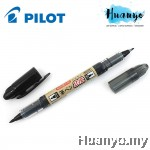 Pilot Futayaku Double-Sided Tip Brush Pen - Fine & Medium