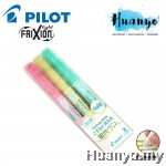 Pilot FriXion Light Soft Color Erasable Highlighter - 3 Color Set