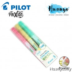 Pilot FriXion Light Soft Color Erasable Highlighter - 3 Color Set