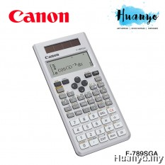 Canon Scientific Calculator F-789SGA (605 Functions and Solar Powered)
