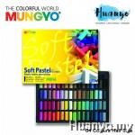 Mungyo Soft Pastel 64 Colours Set (Half Size)