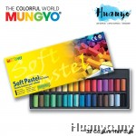Mungyo Soft Pastel 32 Colours Set (Half Size)
