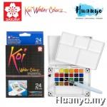 Sakura Koi Water Colours Pocket Field Sketch Box - 24 Colours