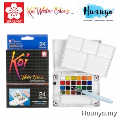 Sakura Koi Water Colours Pocket Field Sketch Box - 24 Colours