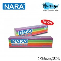 NARA Modeling Clay Neon Colour 270g (Colours of 6)