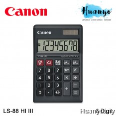 Canon Calculator LS-88HI III (Black)