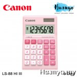 Canon Calculator LS-88HI III (Pastel Pink)