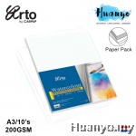 Campap Arto WaterColour Painting Paper A3 200gsm/10's (Cotton)