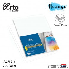 Campap Arto Netherlands WaterColour Painting Paper A3 200gsm/10's (Cotton,Medium Surface , Blue Cover)