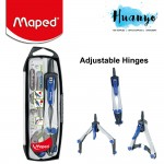 Maped Technic Compact Compass - 5 pieces set