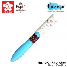 Sakura Espie 3D Decoration Marker Pen No.125- Sky Blue