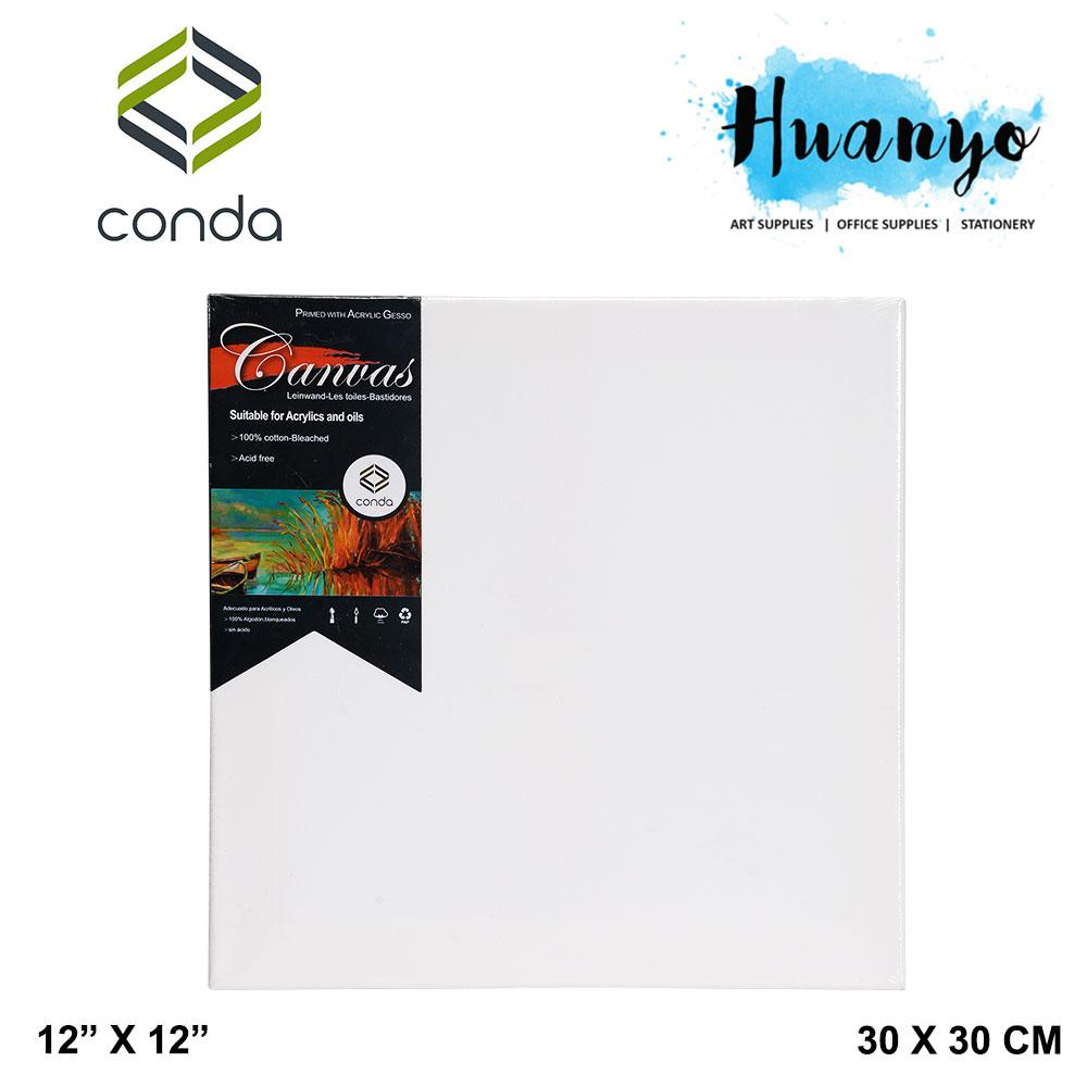 Conda Artist Stretch Canvas (30cm X 30cm /12' X 12')