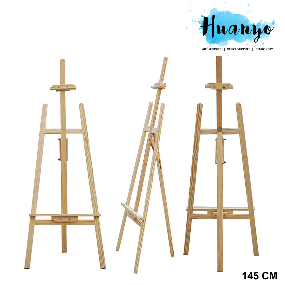 Wooden Artist Painting Display Easel Stand (145CM)