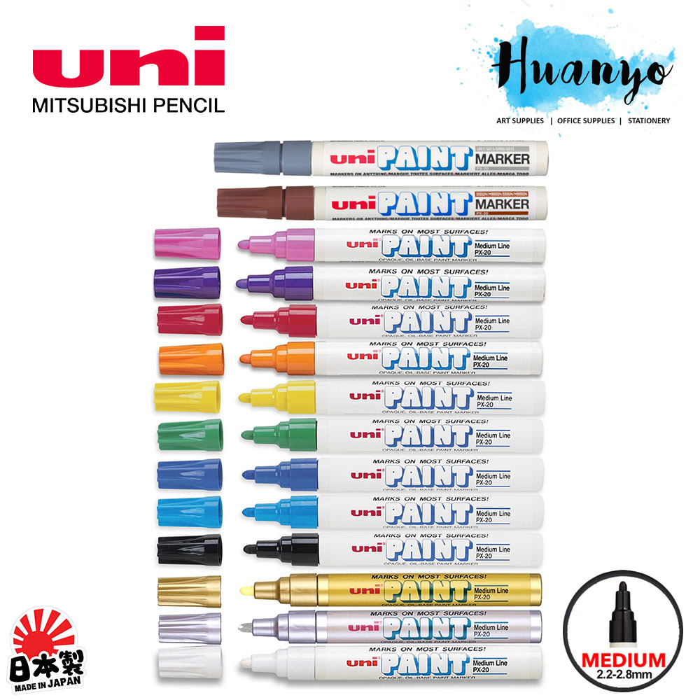 Uni Paint Marker PX 20 Medium Tip (Per Pcs)