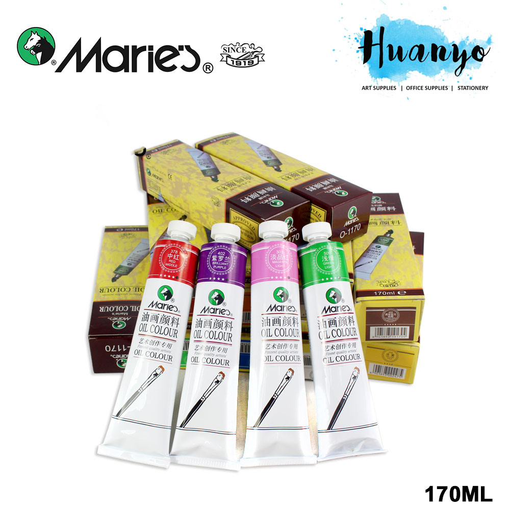 Marie's Artist Oil Colour 170ml (Per Pcs)